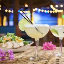 Lightnin' Stike, Perfect Margarita and Chicken Ceasar Salad at Jimmy Buffett's Margaritaville at Universal CityWalk
