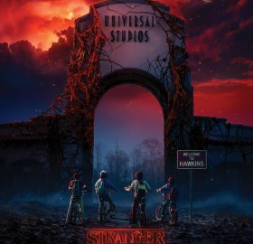 """Universal Studios' Halloween Horror Nights Enters an Alternate Dimension with the Highly-Anticipated Arrival of Netflix's Original Series """"Stranger Things"""" as All-New Supernatural Mazes in Hollywood, Orlando and Singapore"""
