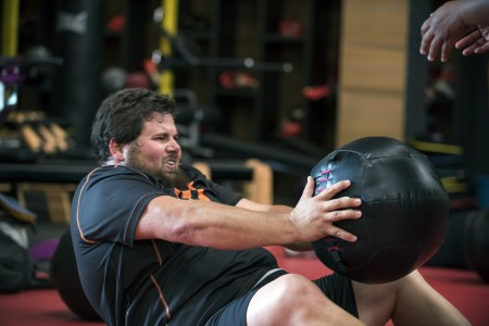"THE BIGGEST LOSER--  ""The Big Switch"" Episode 1705-- Pictured: Colby Wright -- (Photo by: Brandon Hickman/NBC)"
